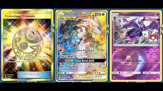 1 Hit KO RESHIRAM & ZEKROM TAG GX Deck, Infinite 270 Damage Spam, Naganadel Combo
