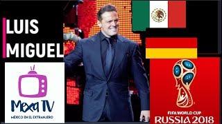 Canción de Luis Miguel dedicada a la Selección de Alemania  Rusia 2018
