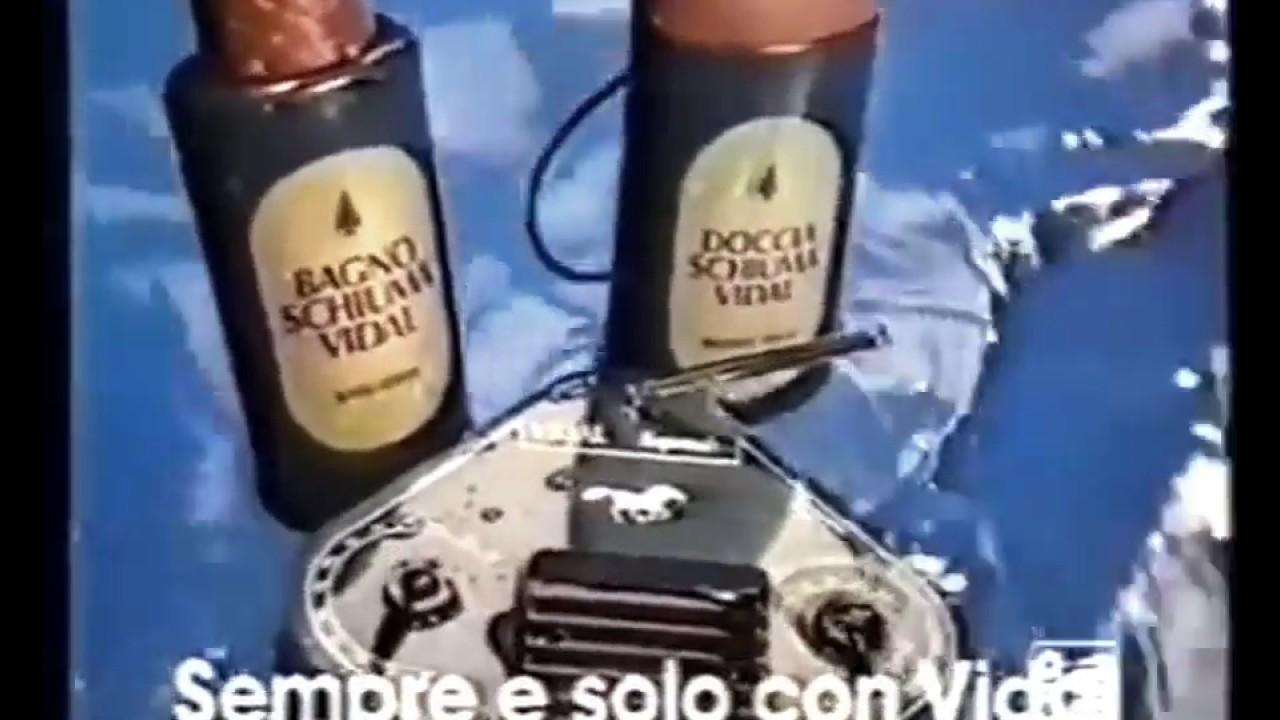 Bagnoschiuma Vidal 1985 Sempre e solo con Vidal - YouTube