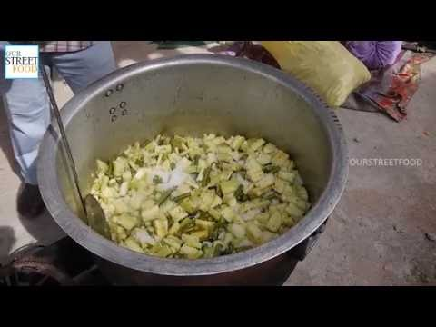 Making Of Sambar For 100 People | How To Make Sambar | South Indian Recipes | Street Food