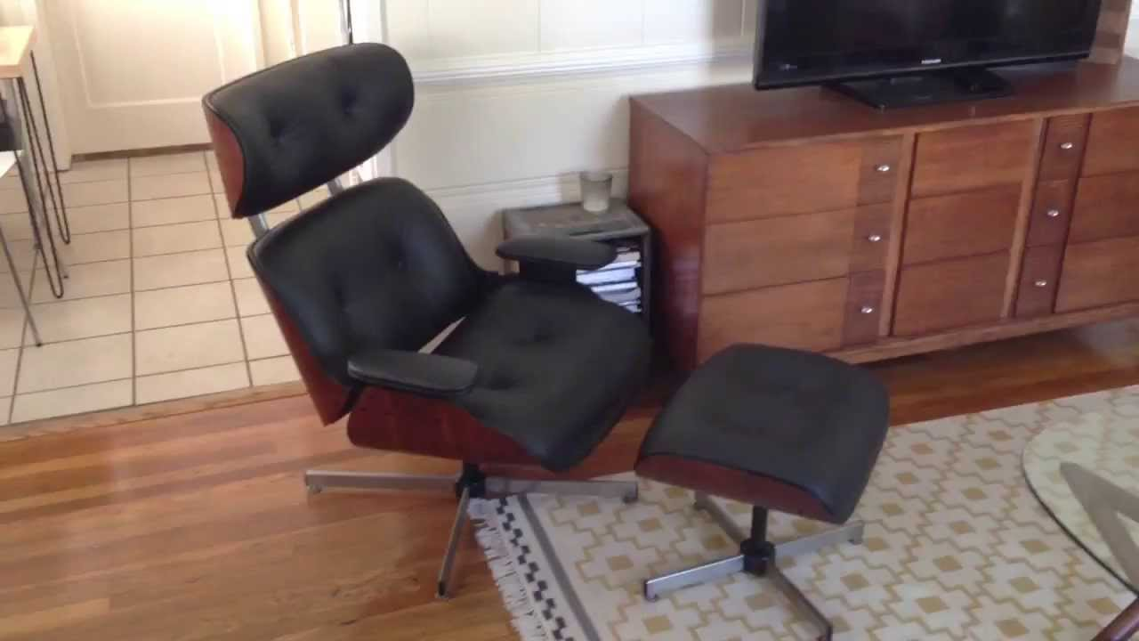 Selig Plycraft Lounge Chair Parts Leather Reclining With Ottoman Eames Restoration Youtube