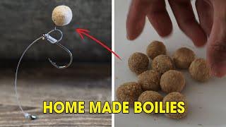 How to make boilies - boilie recipe - carp bait recipe - boilies for carp