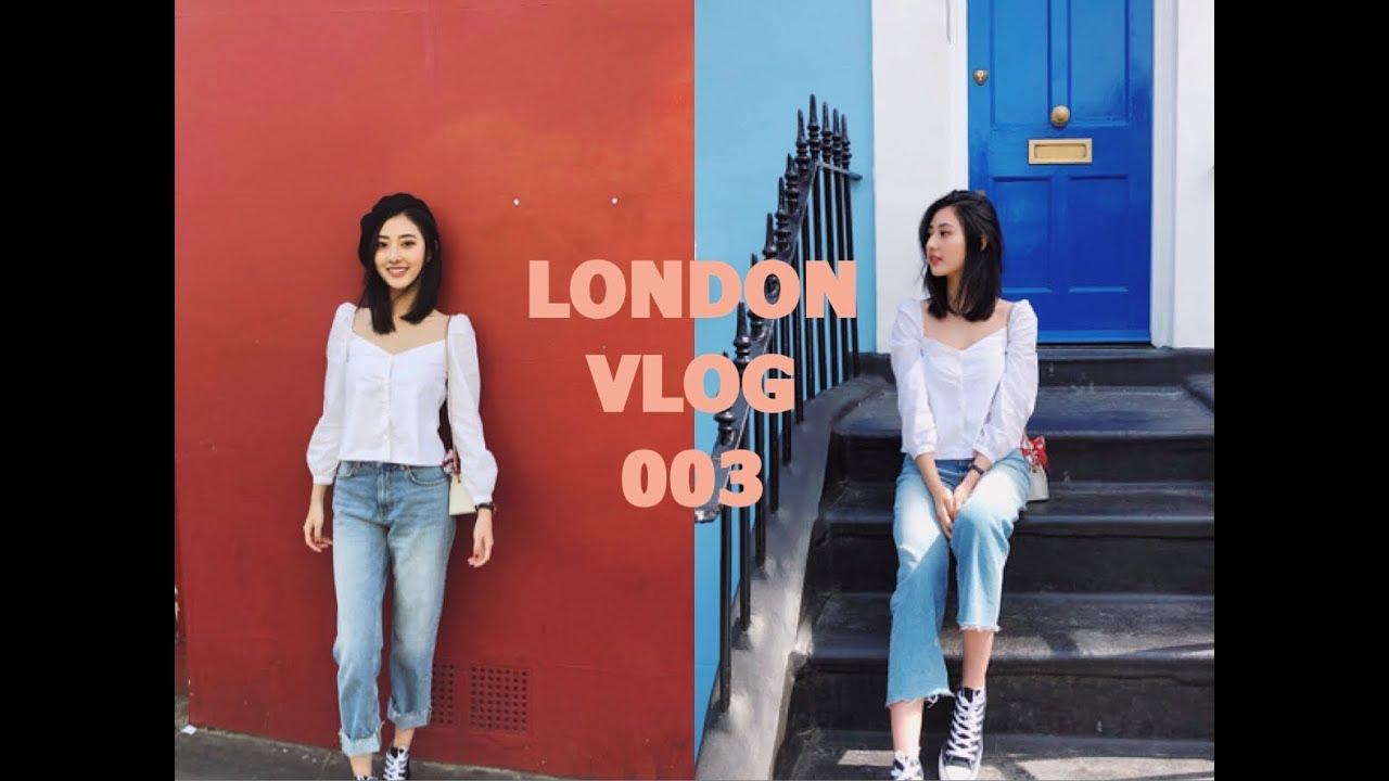 LONDON VLOG 003 | 英伦风的诺丁山 | 和我一起逛街买衣服