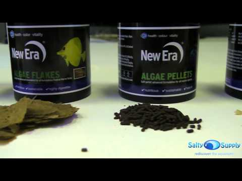 NewEra Aquaculture Fish Food Overview - Reef And Marine Aquarium