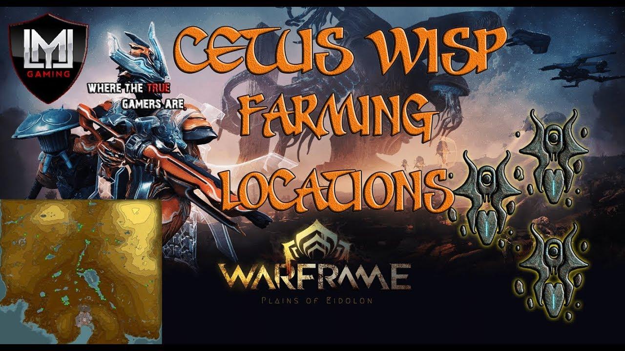 cetus wisp farming