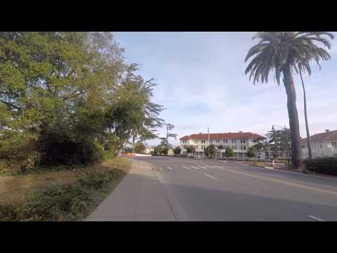 Early Sunday GoPro walk at the Presidio in San Francisco