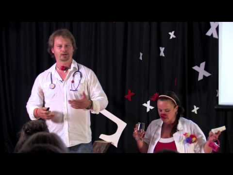 Mission: A healing clown | Mihalak, Keselickova | TEDxKežmarok