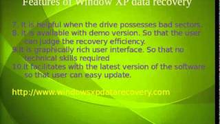 Window xp data recovery Application Reveiws
