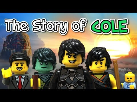 Lego Ninjago: THE STORY OF COLE