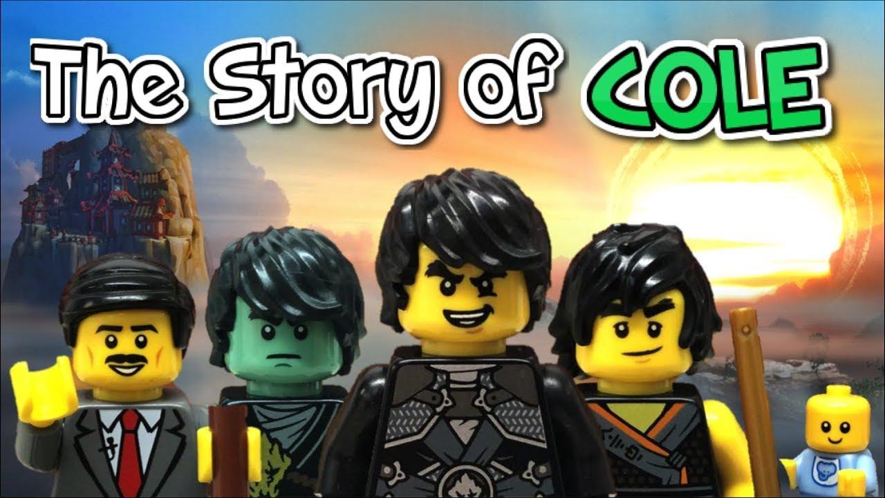 Lego Ninjago The Story Of Cole