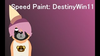 Speed Paint: DestinyWin11