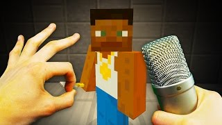 REALISTIC MINECRAFT - STEVE BECOMES A RAPPER! 🎤