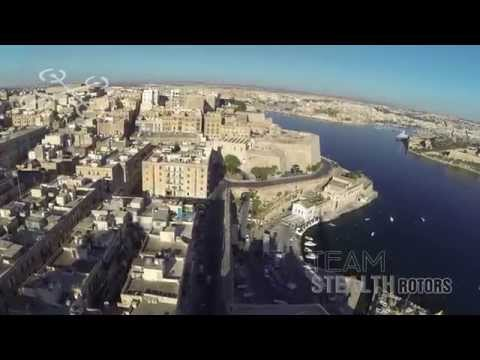Valletta and Surroundings - Team Stealth Rotors