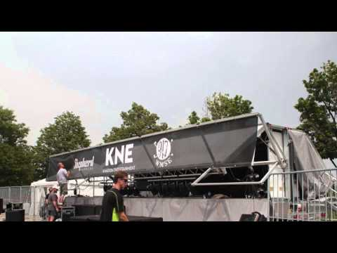 KNE Mobile Stage Available For Indoor/Outdoor Rentals