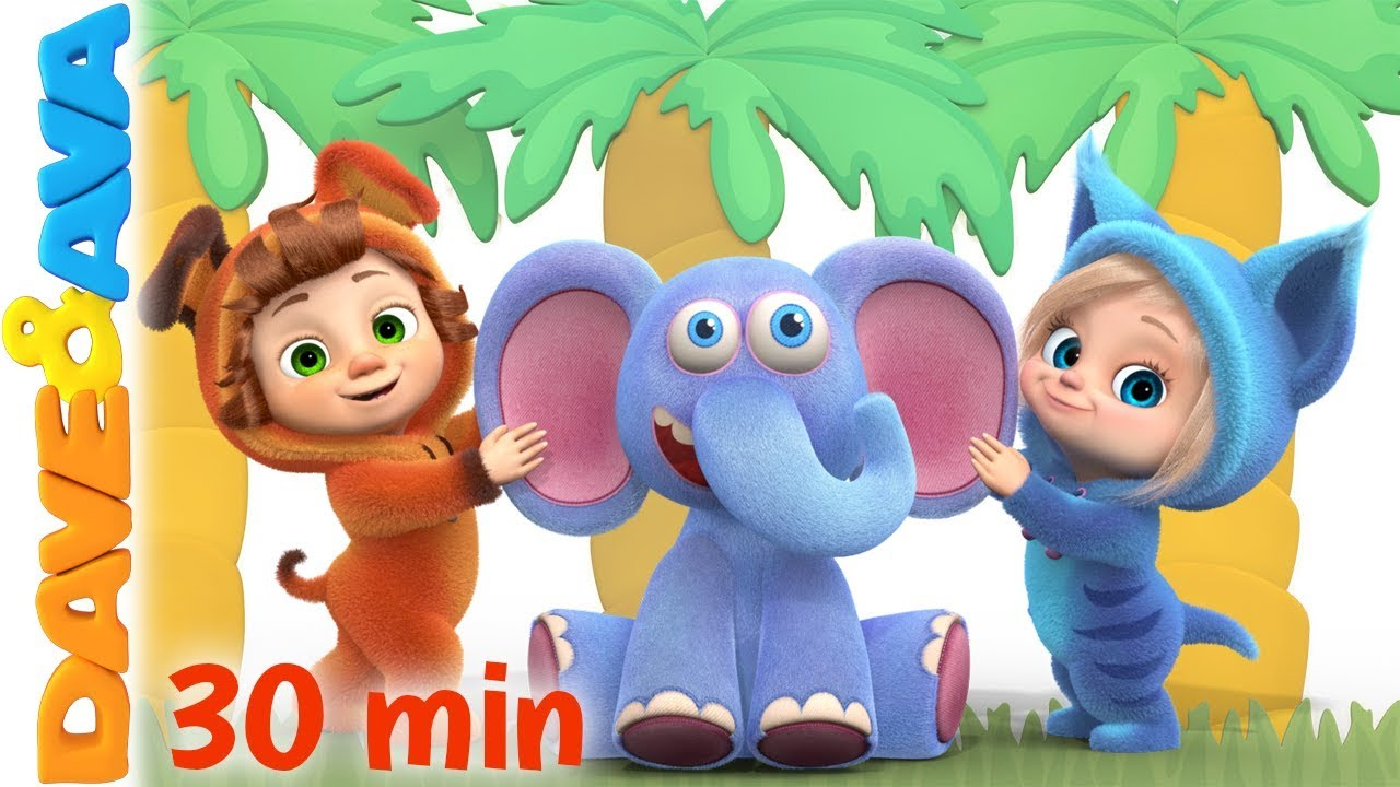 Down In The Jungle Nursery Rhymes And Kids Songs Baby