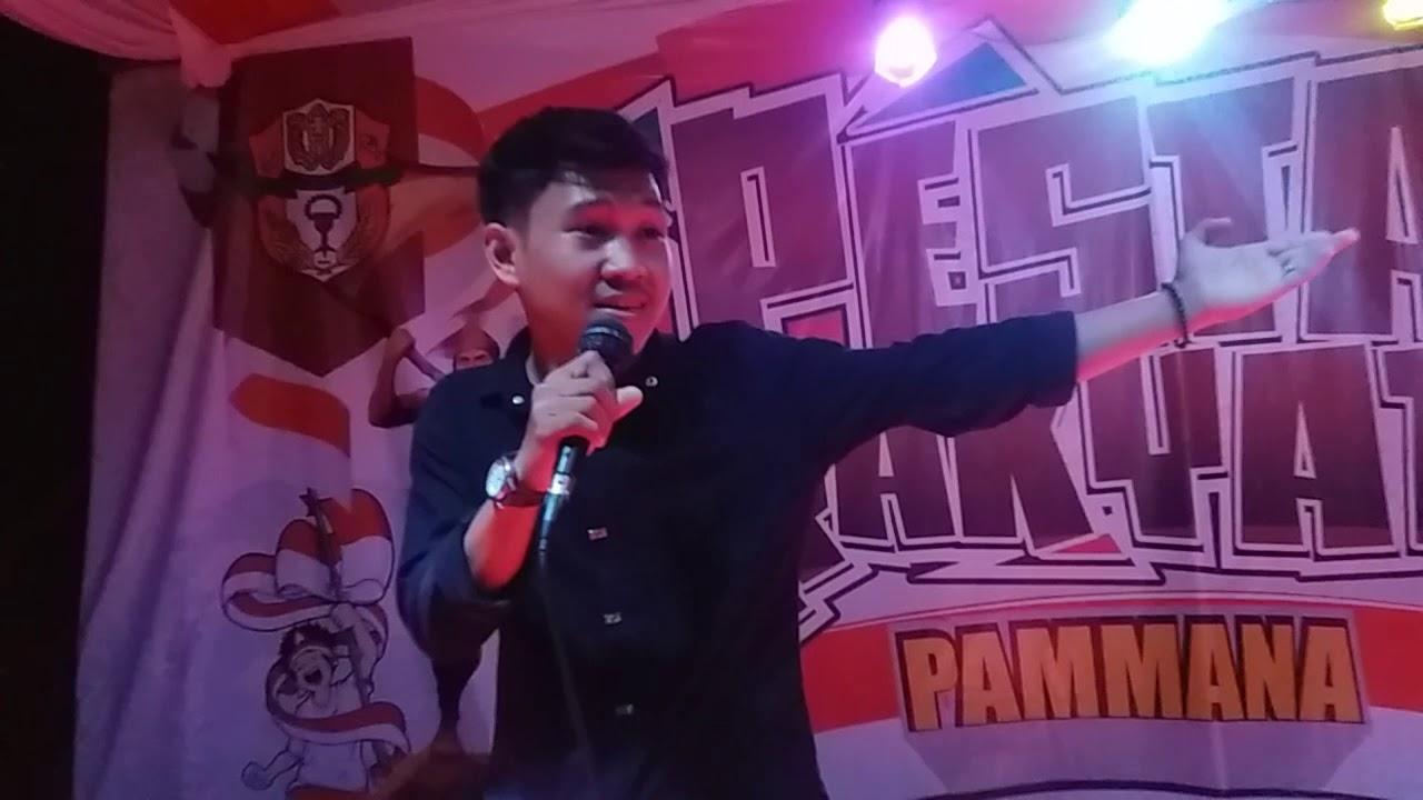 Download #SISIRPro Malam kesenian Pesta Rakyat Pammana   Lomba Lagu Solo Dafri PANDAWA