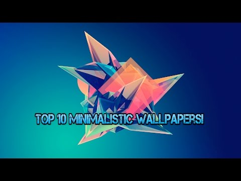 Top 10 minimalistic wallpapers