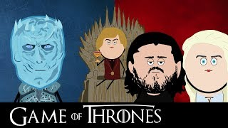 GAME OF THRONES (IL TRONO DI SPADE) IN 6 MINUTI | PARODIA CARTONE