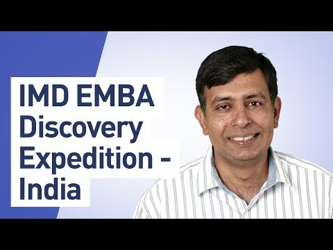 IMD EMBA Discovery Expedition – India