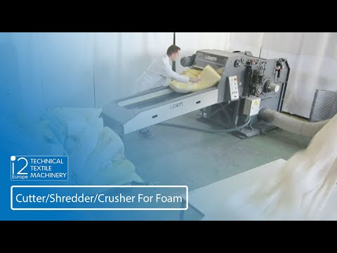 Shredder For Foam And Polystyrene