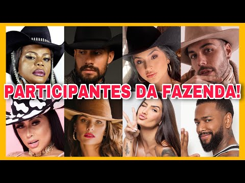 CONHEÇA TODOS os PARTICIPANTES de A FAZENDA 13
