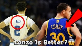 Will Lonzo Ball Be A Better Player Than Stephen Curry?