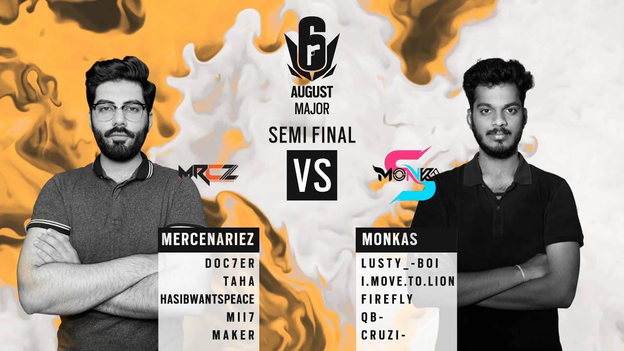 MercenarieZ vs MonkaS // APAC Six August 2020 Major – South Asia Semi-final