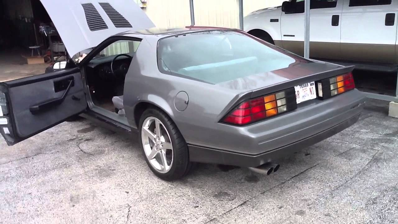 Ls1 Third Gen Camaro Z28 Ls1 Swap Comp Cam Youtube