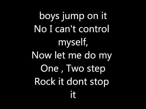 Ciara -One Two Step (Lyrics).