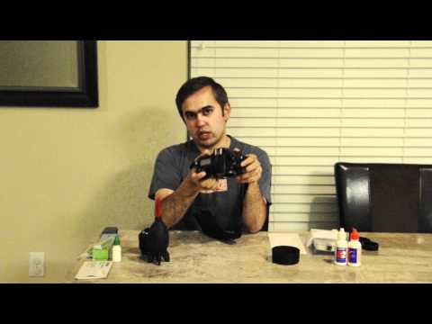 How to clean DSLR sensor - Part 1