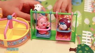뽀로로  유치원  놀이터 1편 어린이집 가방 장난감 Pororo Kindergarten Playset Toys мультфильмы  Пороро Игрушки [라임튜브]