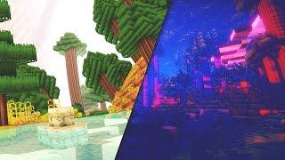 TOP 5 Minecraft Creepy Shaders!