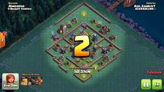 Clash Of Clans İnşaatçı Üssü 3lükleri , Builder Hall 3 star