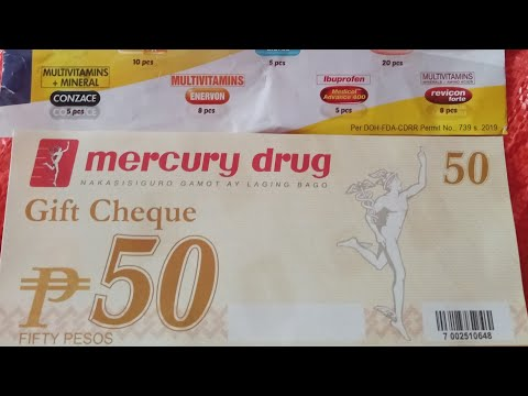 MERCURY DRUGSTORE HAUL | PHILIPPINES | 2019 from YouTube · Duration:  4 minutes 1 seconds