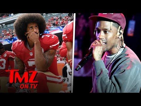 Colin Kaepernick and Travis Scott Super Bowl Deal Drama | TMZ TV
