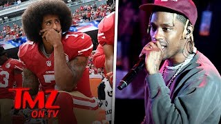 Colin Kaepernick and Travis Scott Super Bowl Deal Drama | TMZ TV