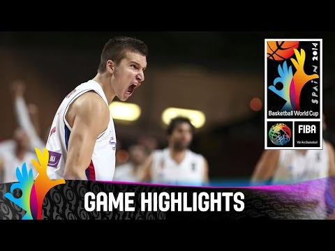 Serbia v Greece - Game Highlights - Round of 16 - 2014 FIBA Basketball World Cup