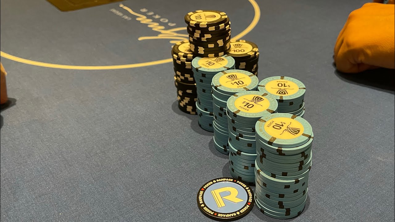 A $5,000 Buy In! Meeting a Poker Legend!   Poker Vlog #320