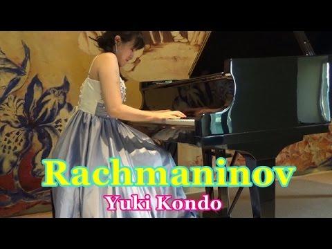 ラフマニノフ: パガニーニの主題による狂詩曲より  ピアニスト 近藤由貴/Rachmaninov: Rhapsody on a Theme by Paganini Var.18, Yuki Kondo