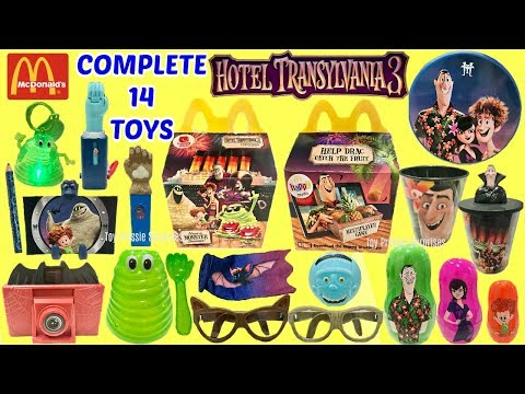 unboxing-all-14-toys---mcdonalds-hotel-transylvania-3-happy-meal-summer-movie-toys