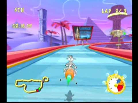 Looney Tunes Space Race (Dreamcast)