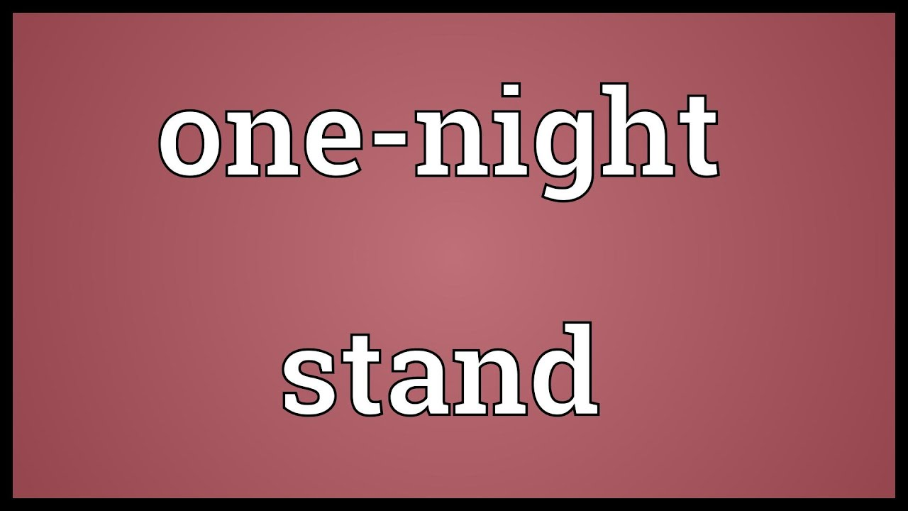 meaning of one night stand in hindi