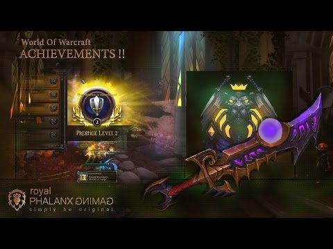 Achievement-Legion 7.1.5 Retribution Paladin-The Prestige, Prestige Rank 2 Fallen Hope PVP Skin