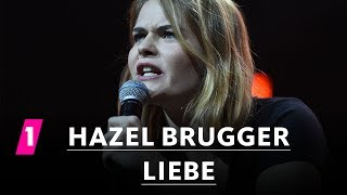Hazel Brugger über Liebe