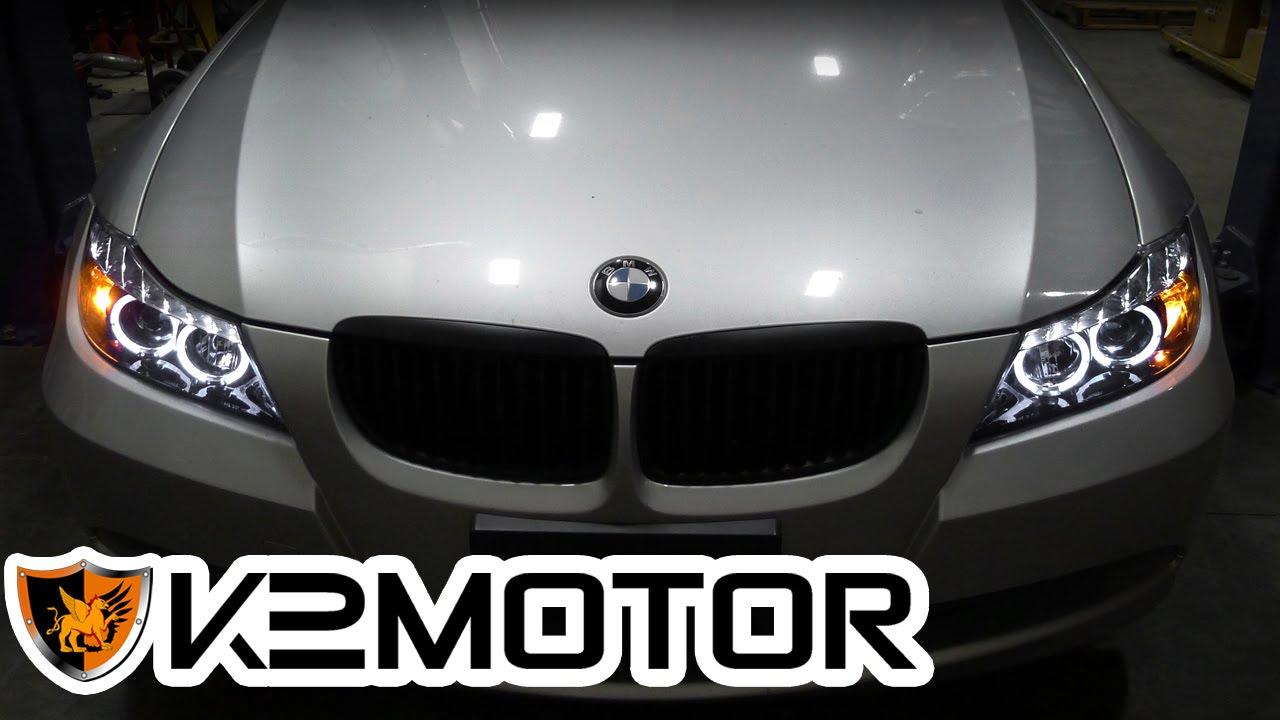 K2 Motor Installation Video 2006 08 Bmw E90 3 Series 4