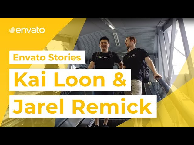 Envato Stories - Jarel and Kai Loon