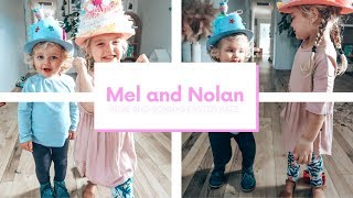 EASTER HAT PARADE - Well they didn't end up doing it // Mel and Nolan