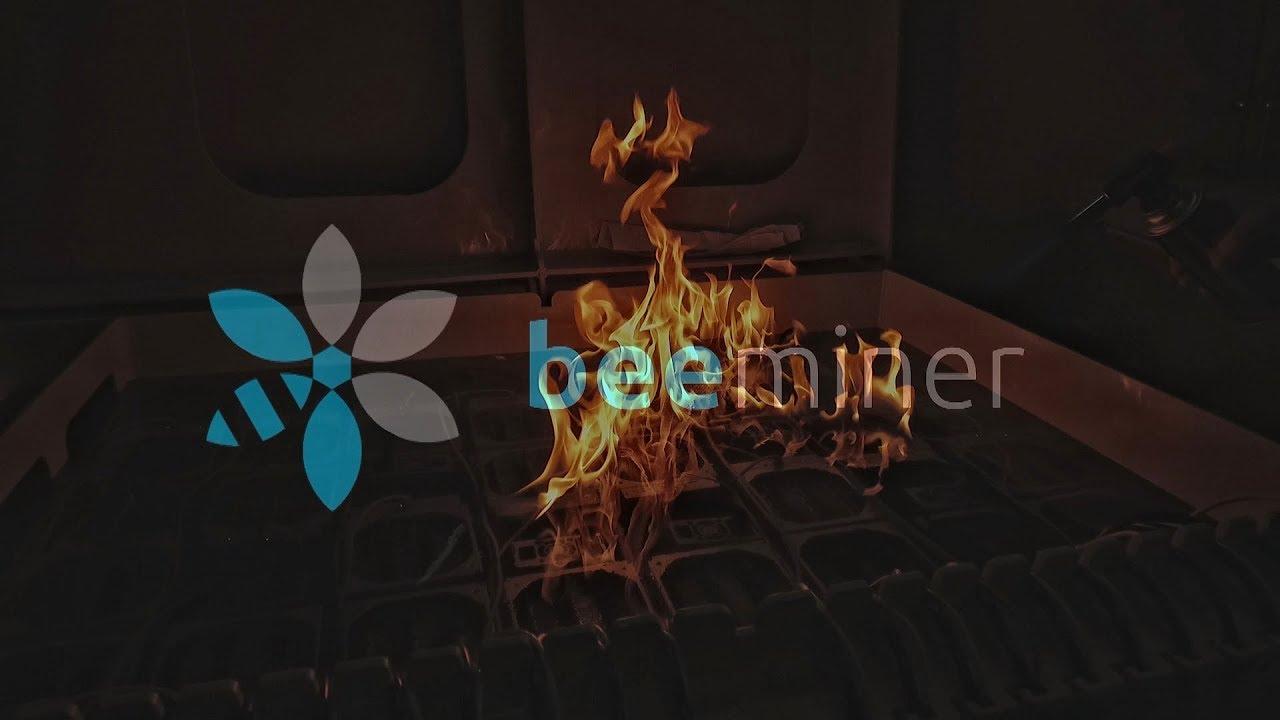 Сжигаем 24 Antminer  Иммерсионное охлаждение  Пожарная безопасность  BEEMINER - Музыка для Машины