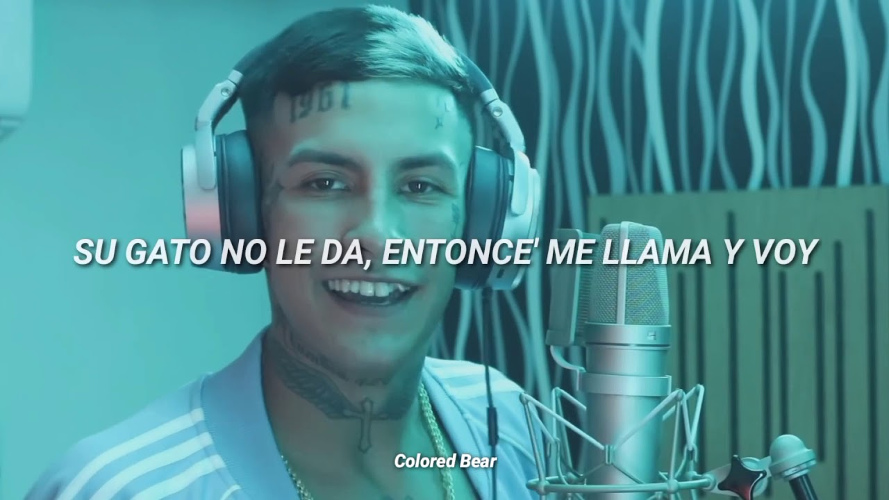 L Gante Bzrp Music Sessions 38 Letra Video Youtube