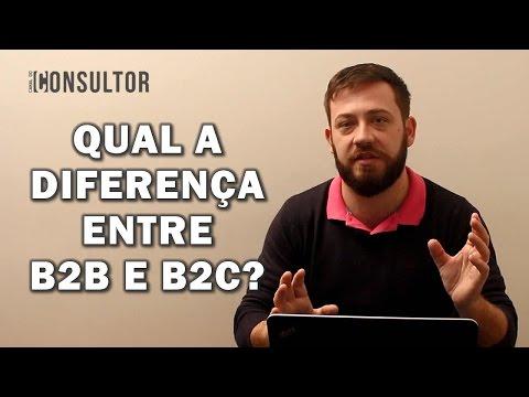 Qual a diferença entre B2B e B2C?